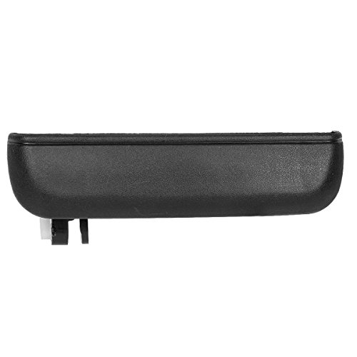 AUTEX 1pc Black Exterior Outer Front Left (Driver Side) Door Handle Compatible with Toyota Tercel 1995 1996 1997 1998