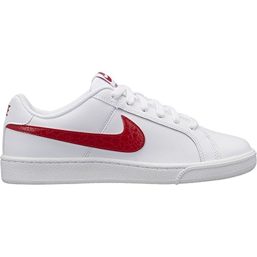 NIKE Women's Court Royale Shoe White/University Red 7