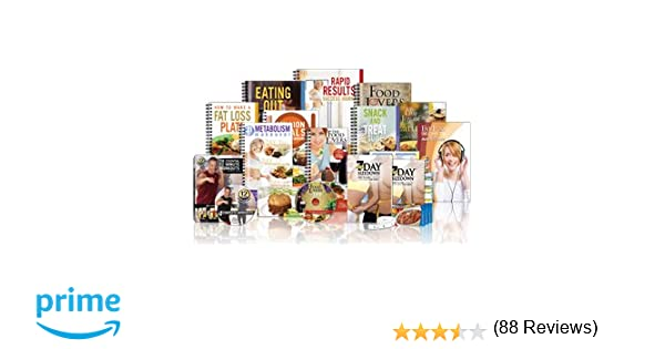 Amazon food lovers fat loss system 21 day metabolism amazon food lovers fat loss system 21 day metabolism makeover guide cds weight loss cookbook eating out guide workout dvds more health forumfinder Gallery