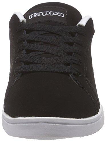 Kappa Tasu - Zapatillas Mujer Negro - Schwarz (1110 BLACK/WHITE)