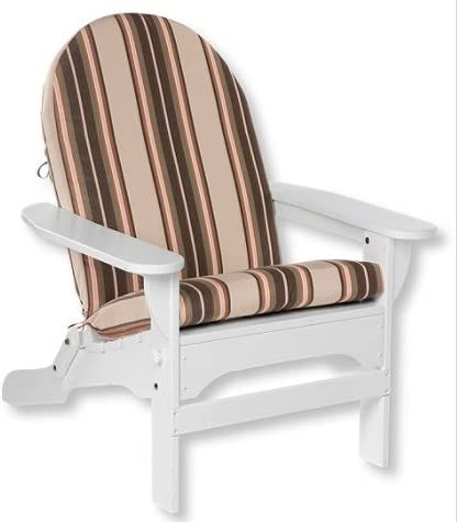 TeakStation Sunbrella Fabric Seat Back Cushion for Adirondack Chair Click to See More Options