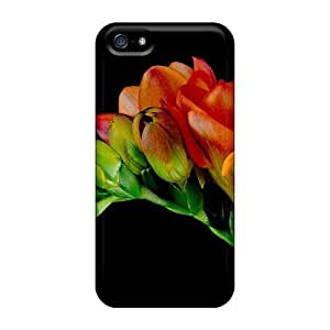 Anti-scratch And Shatterproof Freesia Phone Case For Iphone 5/5s/ High Quality Tpu Case