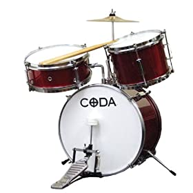 CODA DS-010-R 3-Piece Drum Set 6