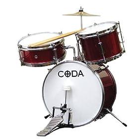 CODA DS-010-R 3-Piece Drum Set 5