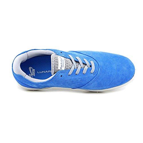 Nike Eric Koston 2 Herren Blau Wildleder Skate Schuhe Neu EU 44,5