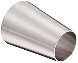 DixonB31W-G300200P Stainless Steel 304 Polished Fitting, Weld Concentric Reducer, 3\