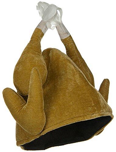 Plush Roasted Turkey Novelty Thanksgiving Holiday Hat