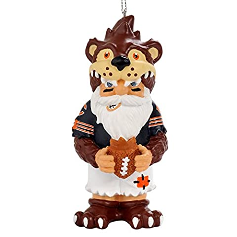 NFL Chicago Bears Thematic Gnome Ornament - Chicago Bears Christmas Ornament