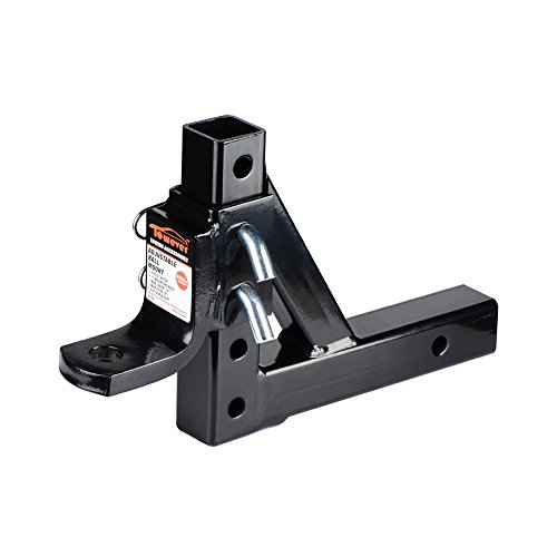 Towever 8-Position Class III/IV Adjustable Trailer Ball (Adjustable Trailer Hitch Ball Mount)