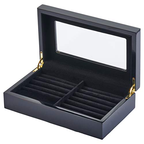 (Wooden Cufflink Box for 24 Pairs)
