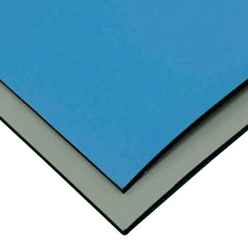 StaticTech Smooth Dual-Layer Rubber Anti-Static Workstation Mat, 30'' x 50' Roll, Blue