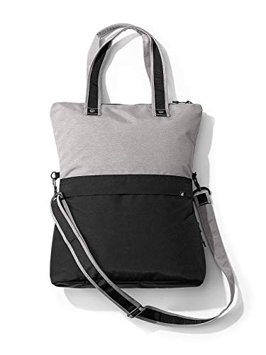 (Eddie Bauer Unisex-Adult Zen Crossover Tote, Chrome Regular ONESZE)