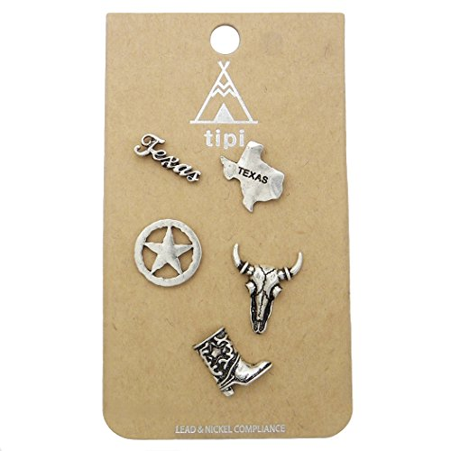 Rosemarie Collections Women's Whimsical State Pride Brooch Pin Set - Macys Coast South