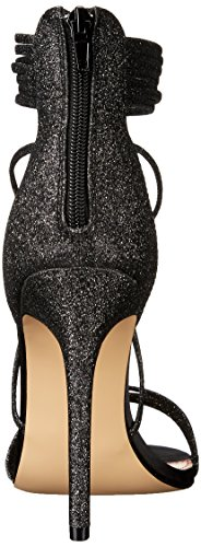Black Women's Johnson Glitter Sandal Betsey by Dress Blue Kora wzpqzZxf7