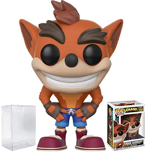 Funko Pop! Games: Crash Bandicoot - Crash Bandicoot Vinyl Figure (Bundled with Pop BOX PROTECTOR CASE)