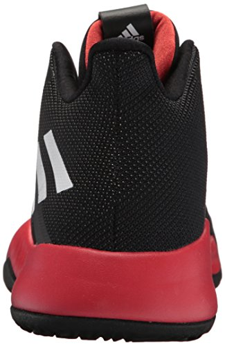 adidas Men's Mad Bounce Basketball Shoe Core Black/White/Semi Frozen Yellow discount extremely free shipping under $60 store cheap price Keq2c