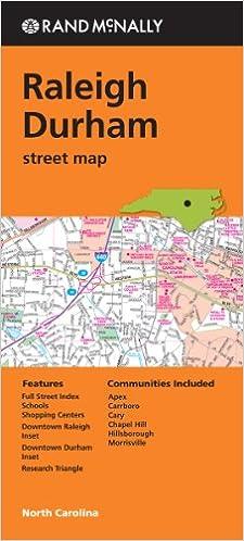 Rand Mcnally Raleigh Durham Street Map: Rand McNally: 9780528008412 ...