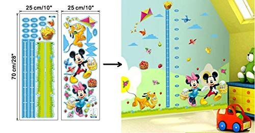 Amazon.com: JEWH hot Mickey Mouse Minnie Vinyl Mural Wall Sticker Decals Kids Nursery Room Decor Home Decor Decal Cartoon Stickers: Home & Kitchen
