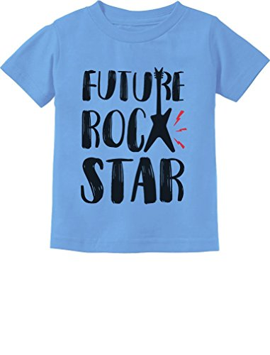 (Tstars - Future Rock Star Cool Children's Gift Toddler Kids T-Shirt 4T California)