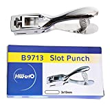 Slot Punch Badge Hole Punch Plier Tool for PVC ID