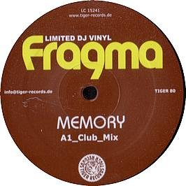Fragma - Memory (Single) - Zortam Music