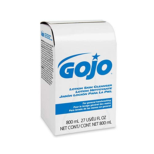 (GOJO Lotion Skin Cleanser 800 milliliters Refill for GOJO Bag-in-Box Dispenser, Sold as 1 each)