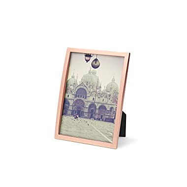 Umbra Senza Metal Picture Frame, 5 by 7-Inch, Copper