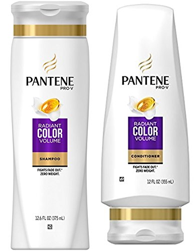 Pantene Pro-V Radiant Color Volume Shampoo and Conditioner S