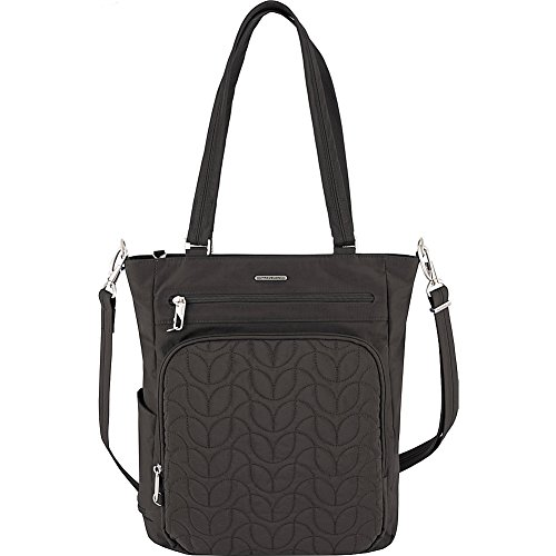 Travelon Anti-Theft Quilted Tote Bag - Fits 15.6