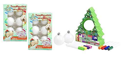 Treemendous Bundle Ornament Decorator with 12 Blank Ornaments