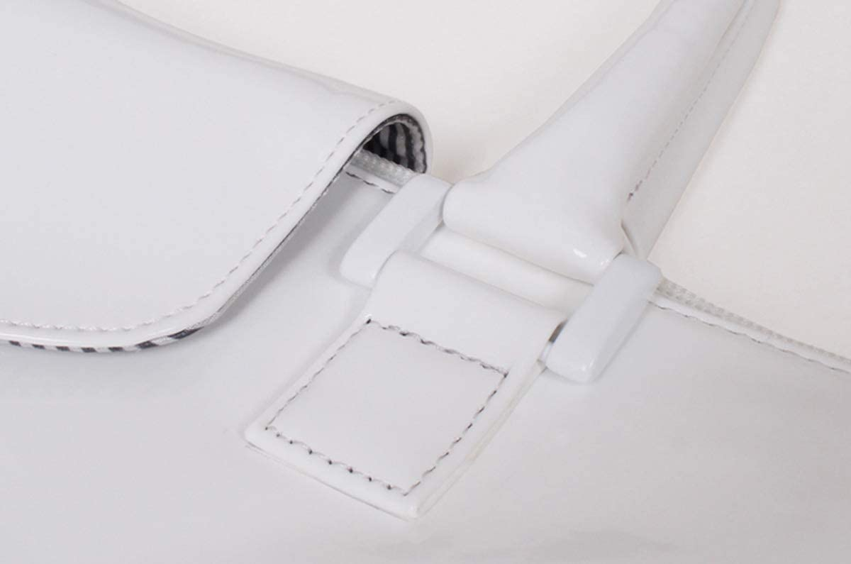 miim Rose Garden White Nylon Shoulder Bag up to 15 laptops Designer miim kfashion Luxury Korea