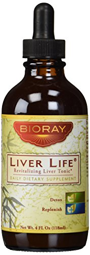 Bioray Liver Life Revitalizing Liver Tonic, 4 Fluid Ounce