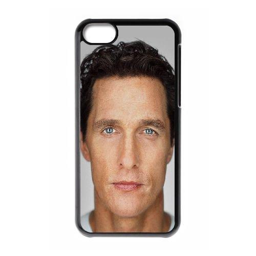 Hd Interstellar Celebrity Matthew McConaughey plus EW37GN3 coque iPhone Téléphone cellulaire 5c cas coque L8MF5M2DP