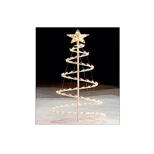 CHRISTMAS SPIRAL CLEAR LIGHTS TOPPER product image