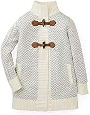 Hope & Henry Girls' Sweater Coat with