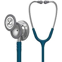 3M Littmann Classic III Monitoring Stethoscope, Caribbean Blue Tube, 27 Inch, 5623