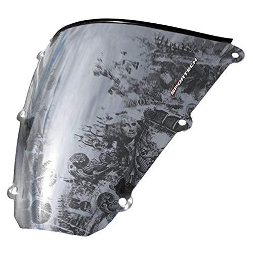 (Benjamin Series Windscreen 2009 Kawasaki ZX600 Ninja ZX-6R Street Motorcycle)