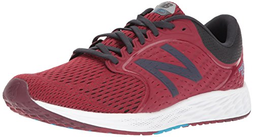 New Balance Men's Zante V4 Running Shoe Nubuck Scarlet/Phantom low price cheap price sale pay with paypal discount buy discount countdown package q3WNzO