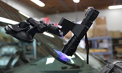 American Windshield Repair Systems Portable Flash Type UV Light with LED at 365 Nano Meters