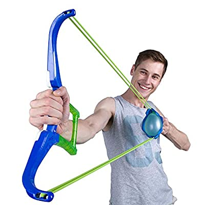 Water Balloon Slingshot Launches Water Balloons 130 Feet; Fill and Tie 100 Water Balloons in 60 Seconds: Toys & Games