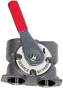 Valvola delladdolcitore Fleck 5600 Volumetrica Bypass meccanico in acciaio Inox