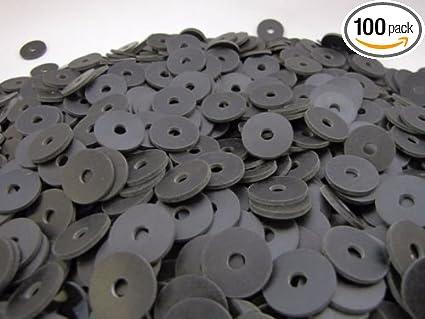 Amazon.com: (100) Rubber Washers   3/4 x 3/16 x 1/16 Inch   Neoprene ...