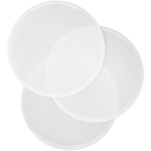 Wilton Fluted Round Cake Boards, White, 23cm (9in) Pack of 3 by Wilton (Image #1)