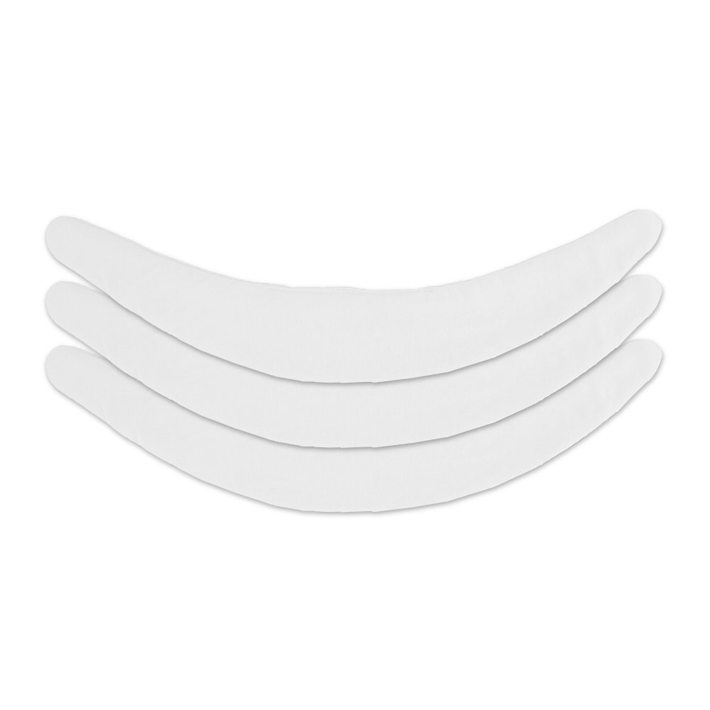 Cotton Tummy Liner (3-Pack, Medium, White) by More of Me to Love (Image #2)