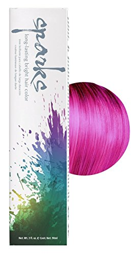 Sparks Bright Haircolor Magenta 3oz (2 Pack) (Best Long Lasting Red Hair Dye)