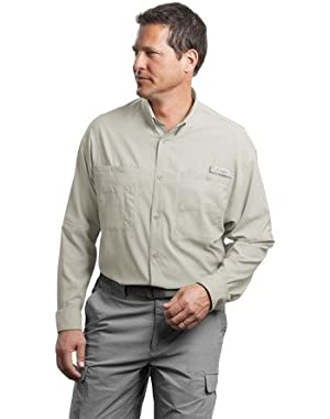 Long Sleeve Tamiami II Fishing Shirt, Fossil, XL
