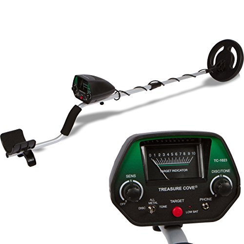 Treasure Cove Fortune Finder Metal Detector (Model: TC-1020)
