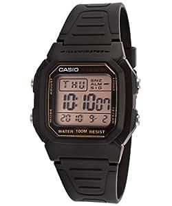 Casio W-800HG-9AV Black Dual Time Unisex Digital Sports Watch