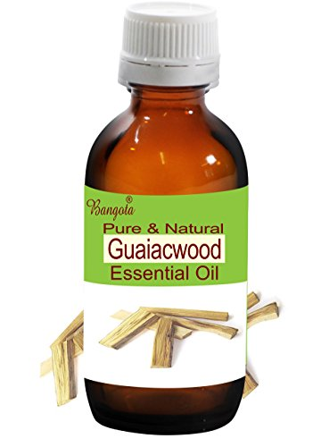 Guaiacwood Oil - Pure & Natural Essential Oil- Bulnesia sarmientoi (10 ml (0.34 Oz))