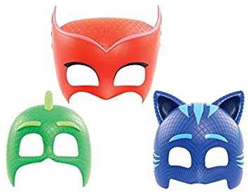 PJ Masks Mask BUNDLE - Gekko, Cat Boy & Owlette